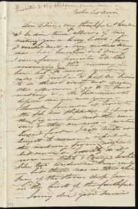Letter from Caroline Weston, Boston, [Mass.], to Deborah Weston, Sat. noon, [1837?]