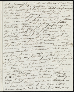 Letter from Caroline Weston, [Boston?], to Anne Warren Weston, [1836?]