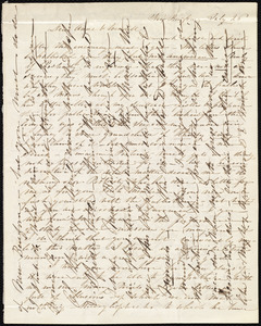 Letter from Caroline Weston, New Bedford, [Mass.], to Ann Terry Greene Phillips and Wendell Phillips, July 26