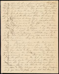 Partial letter from Caroline Weston to Maria Weston Chapman, [1841?]
