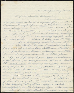 Letter from Deborah Weston, New Bedford, [Mass.], to Maria Weston Chapman and Anne Warren Weston, May 7th, 1839