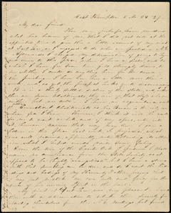 Letter from Abby Kelley Foster, East Hampton, [Conn.], to Anne Warren Weston, 5 Mo[nth], 29 [day], [18]'39