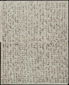 Letter from Anne Warren Weston, Poplar St., [Boston], to Caroline Weston, Nov. 12, 1848. Sunday