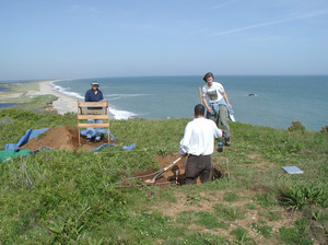 Lucy Vincent Beach Archaeology - Chilmark Pond