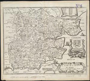A mapp of ye county of Essex