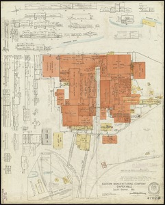 Eastern Manufacturing Company (Paper Mill), South Brewer, Me. [insurance map]
