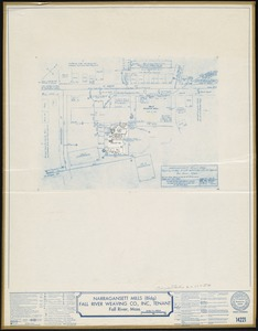 Narragansett Mills (Bldg), Fall River Weaving Co., Inc. (Tenant), Fall River, Mass. [insurance map]