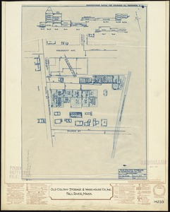 Old Colony Storage & Warehouse Co., Inc., Fall River, Mass. [insurance map]