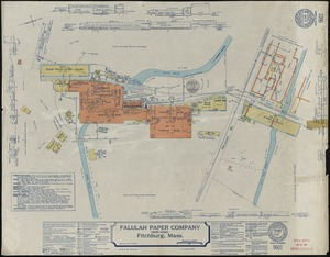 Falulah Paper Company (Paper Board), Fitchburg, Mass. [insurance map]