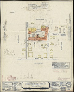 Independent Lock Company (Metal Working), Fitchburg, Mass. [insurance map]