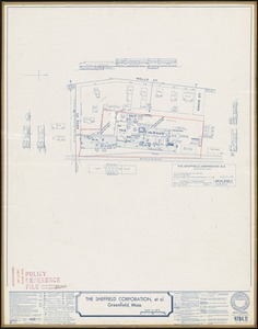 The Sheffield Corporation, et al., Greenfield, Mass. [insurance map]