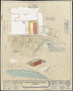 Lawrence Wholesale Drug Company (Warehouse), Lawrence, Mass. [insurance map]