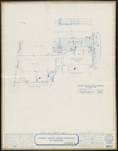 Bachmann Uxbridge Worsted Corporation, New Bedford, Mass. [insurance map]
