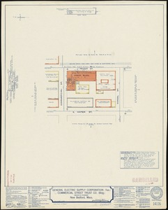 General Electric Supply Corporation (Ten.), Commercial Street Trust Co. (Bldg.) (Sales & Storage), New Bedford, Mass. [insurance map]