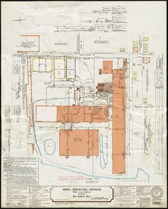 "Grinnell Manufacturing Corporation ""Nos. 1 & 2 Mills"" (Cotton), New Bedford, Mass. [insurance map]"