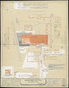 Laurans Bros., Inc., et al, New Bedford, Mass. [insurance map]