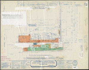 National Pairpoint Company, et al (Bldg); Atlantic Carton Corporation of Delaware, New Bedford, Mass. [insurance map]