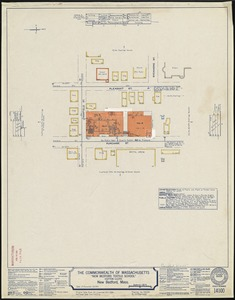 "The Commonwealth of Massachusetts ""New Bedford Textile School,"" (Cotton Cloth), New Bedford, Mass. [insurance map]"