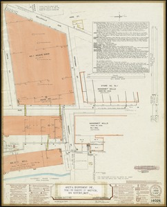 Whitman Mills (Cotton Mill), New Bedford, Mass. [insurance map]