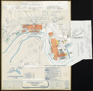 """Textron Incorporated, et. al. """"Webster Mill and Pembroke Mill,"""" Pembroke, N.H. (P.O. Suncook, N.H.) [insurance map]"""