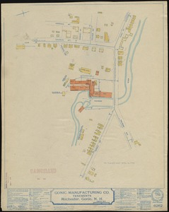 Gonic Manufacturing Co., Rochester, Gonic, N.H., Tenements. [insurance map]