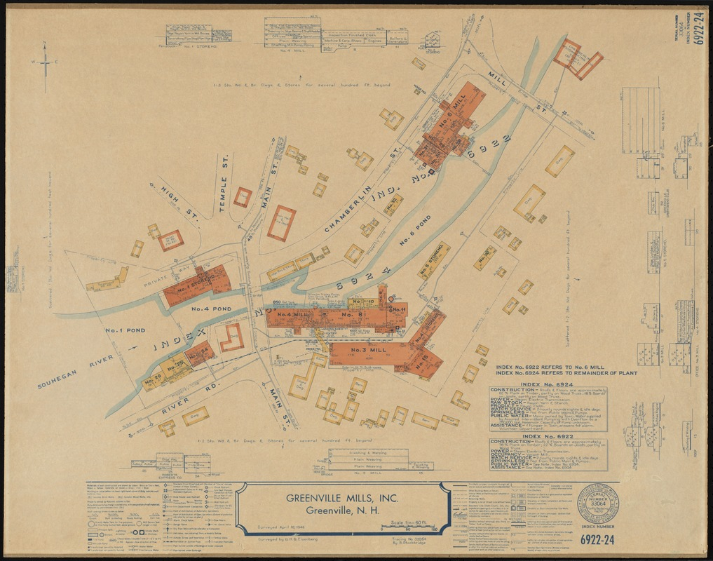 Greenville Mills Inc Greenville NH insurance map Digital