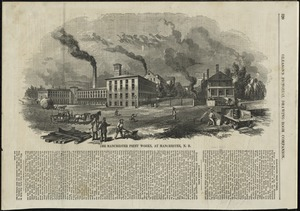 The Manchester Print Works, at Manchester, N.H.