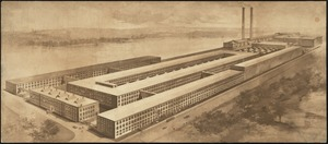 [Pacific Mills Print Works Department, Lawrence, Mass.] [graphic]