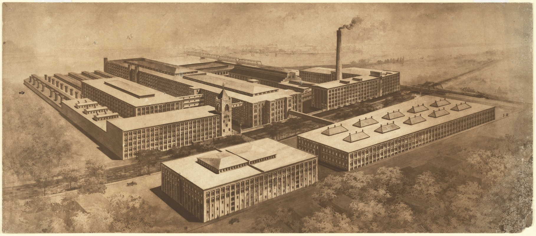 [Pacific Mills Worsted Department, Lawrence, Mass.] [graphic]