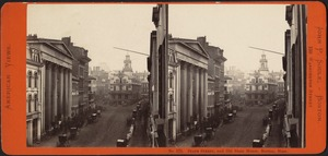 State Street, and Old State House, Boston, Mass.