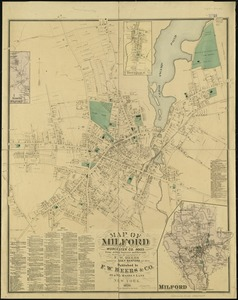 Map of Milford