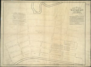 Plan of lots in Methuen