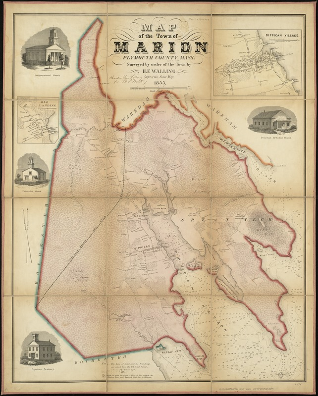 Map of the town of Marion, Plymouth County, Mass