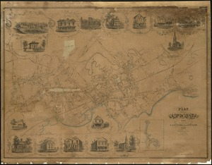 Plan of the city of Lynn Mass. from actual surveys