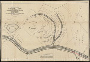 General plan Waban Hill lands on and near Newton Central Boulevard (eastern division)