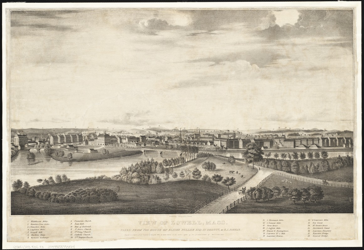 View of Lowell, Mass