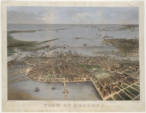 View of Boston, July 4th 1870