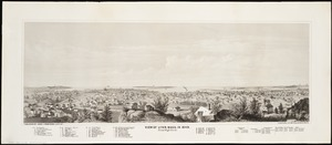View of Lynn, Mass. in 1849