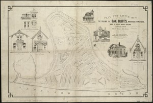 Plan for laying out the village of Oak Bluffs, Martha's Vineyard