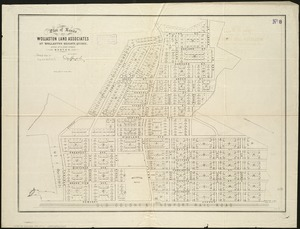 Plan of lands of Wollaston Land Associates at Wollaston Heights, Quincy