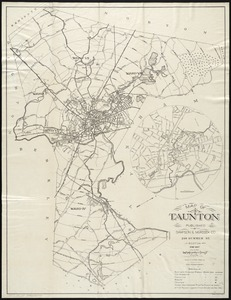 Map of Taunton