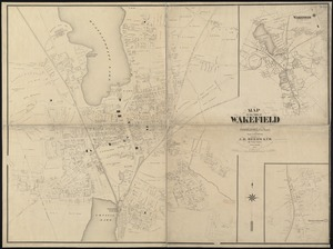 Map of the town of Wakefield Middlesex Co. Mass