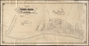 Map of Surf-Side, the property of the Nantucket Surf-Side Company