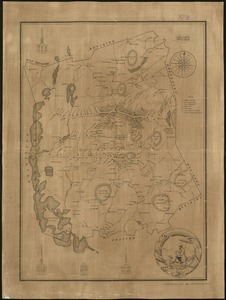 A Map of the town of Shrewsbury, Mass