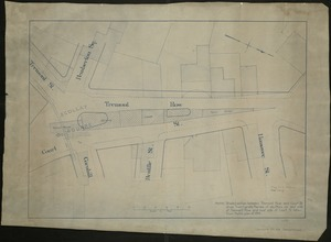 [Map of Scollay Square and vicinity]