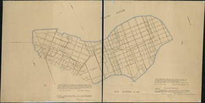 A plan of South Boston and the owners lands, and the roads, taken from the original plan now in keeping, being the same plan that one was drawn from, for the Town of Boston in March 1805