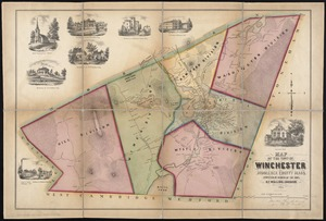 Map of the town of Winchester, Middlesex County, Mass