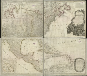 A New map of North America with the West India Islands
