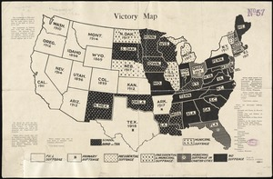 Victory map