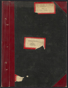Sacco-Vanzetti Case Records, 1920-1928. Transcripts. Bound Trial Transcripts, Vol, 7. pp. 2474-2575 (belonging to Mr. McAnarney). Box 33, Folder 1, Harvard Law School Library, Historical & Special Collections
